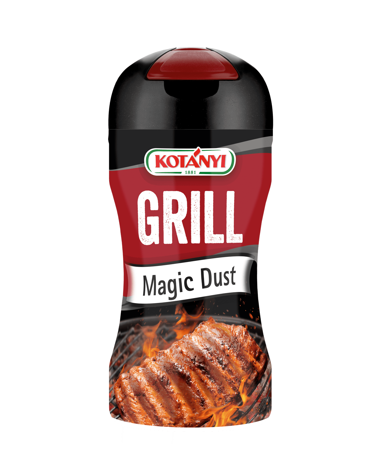 Kotányi Grillgewuerz Magic Dust in der 80g Streudose