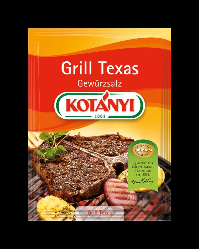 Kotányi Grill Texas Gewürzsalz im Brief