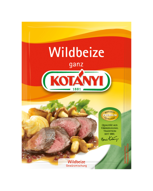 Kotányi Wildbeize im Brief