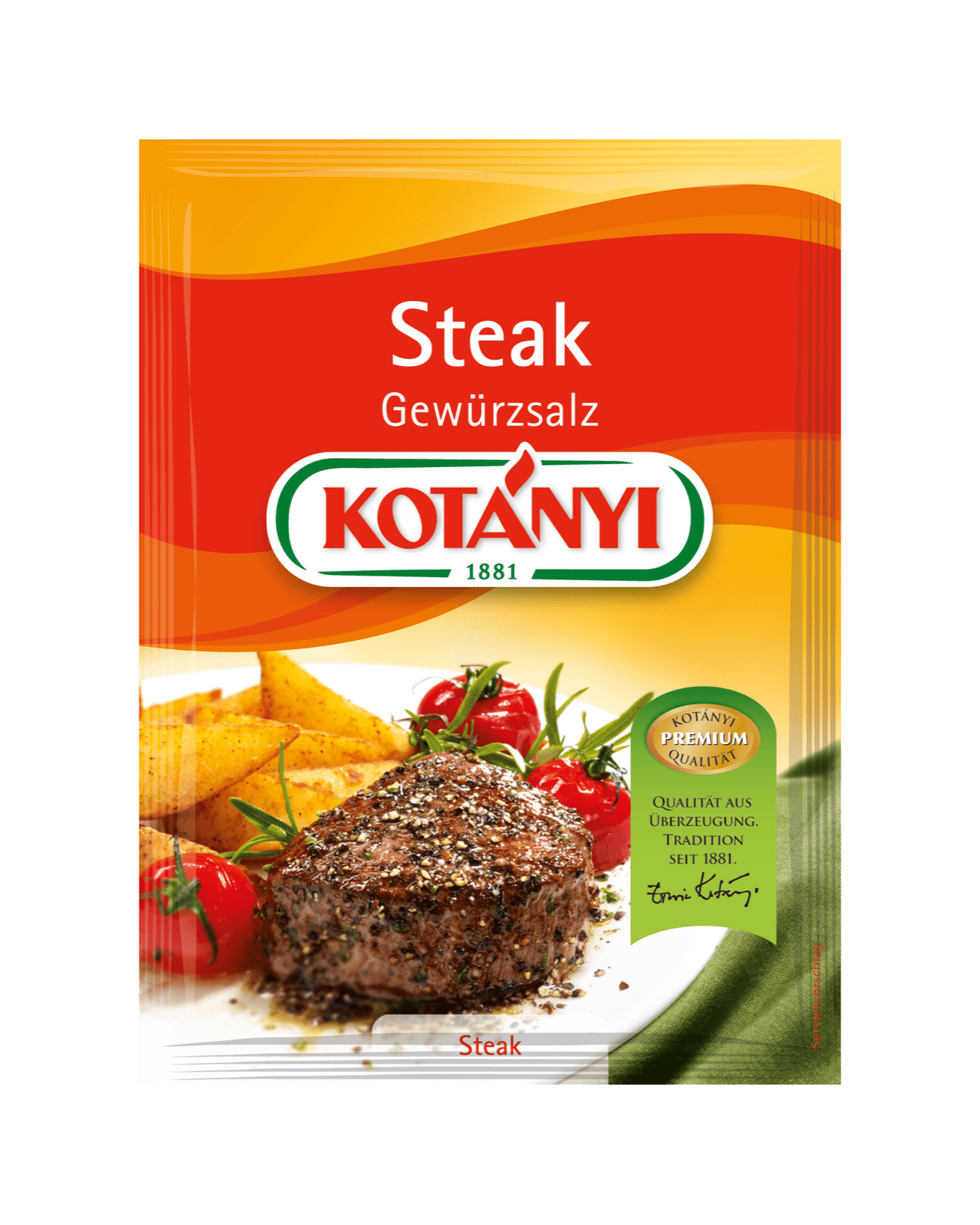 Kotányi Steak Gewürzsalz im Brief