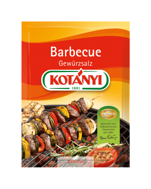 Kotányi Barbecue Gewürzsalz im Brief