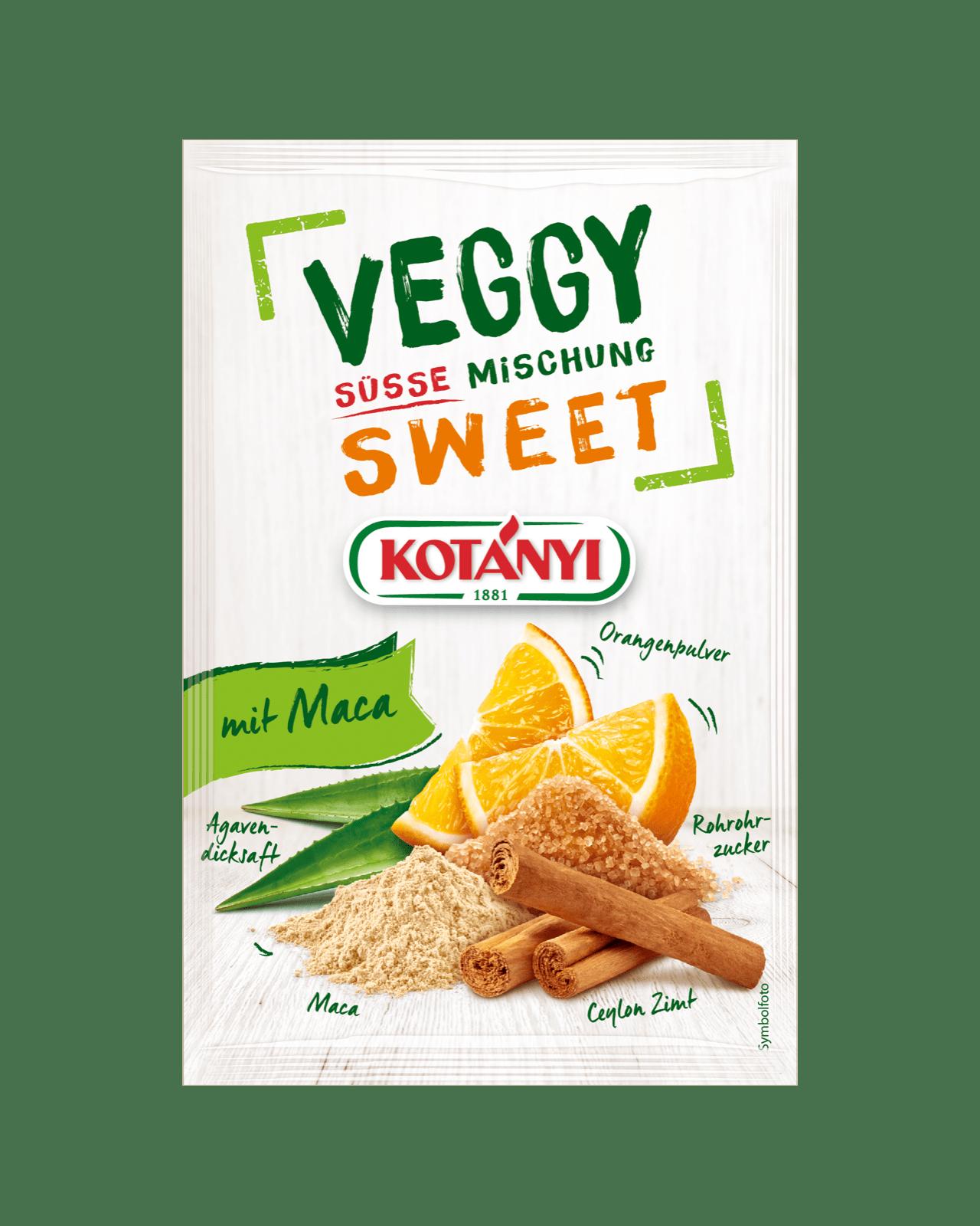 Kotányi Veggy Sweet Gewürzzubereitung im Brief
