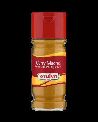 Kotányi Curry Madras Gewürzmischung pikant im 100ml Glas