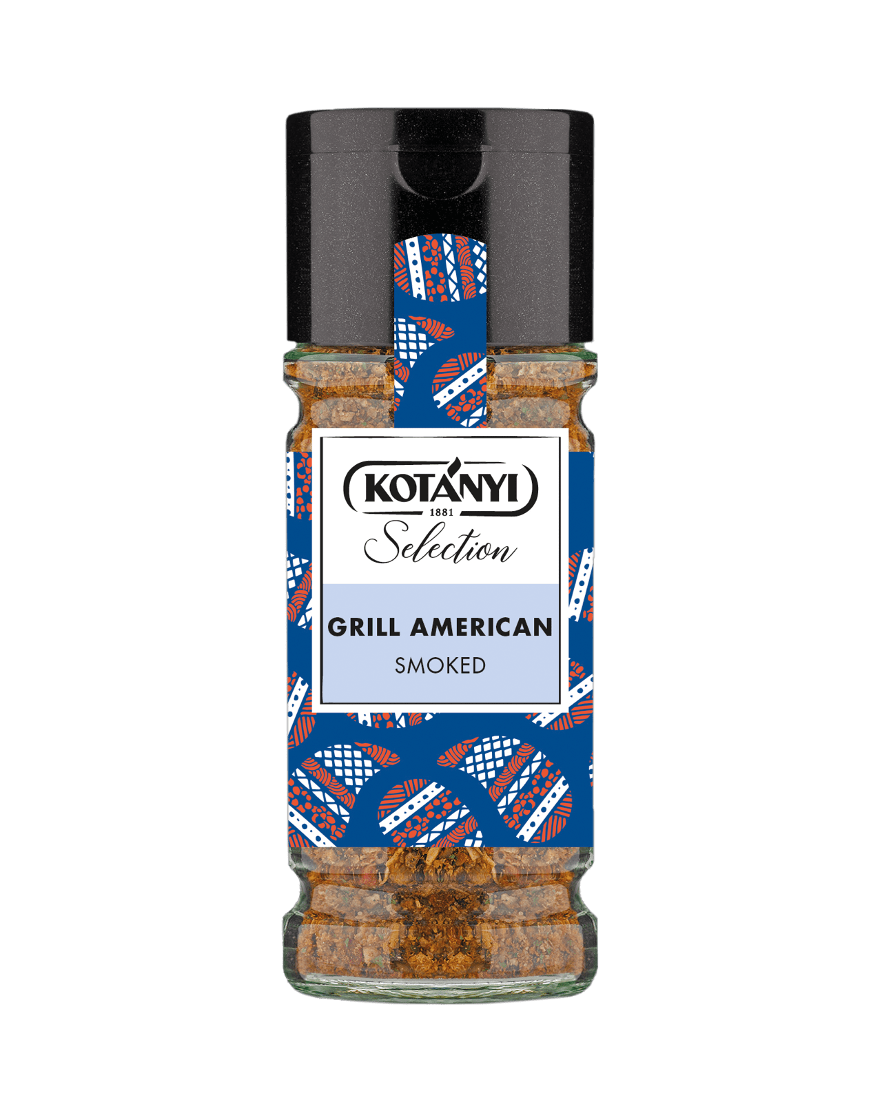 Kotányi Selection Grill American Smoked im 100ml Glas