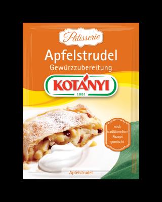 Kotányi Apfelstrudel Gewürzzubereitung im Brief