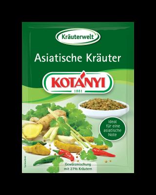Kotányi Asiatische Kräuter im Brief