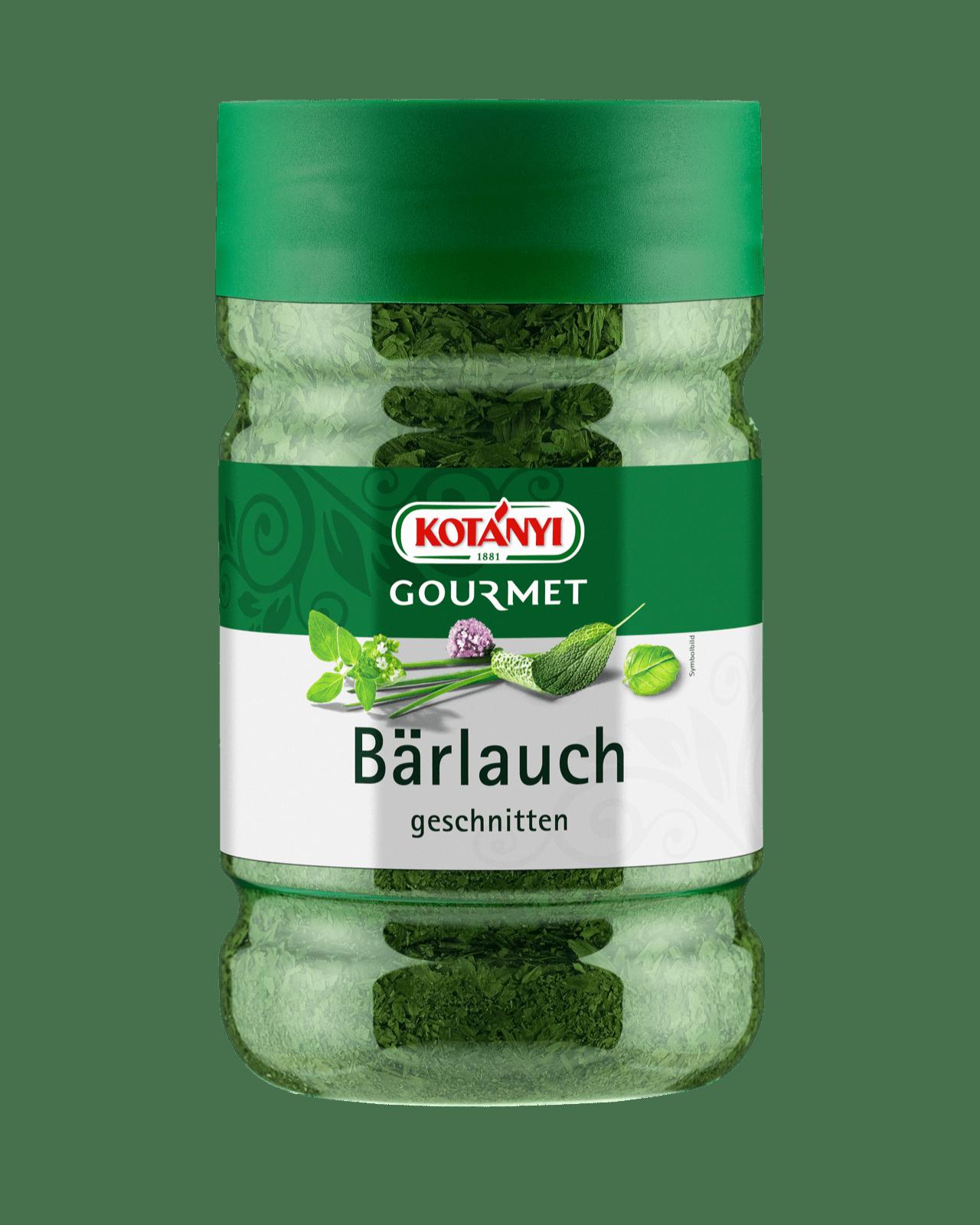 Kotányi Gourmet Bärlauch geschnitten in der 1200ccm Dose