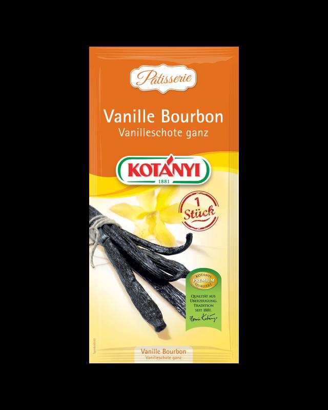 Kotányi Vanille Bourbon Schote ganz im Brief