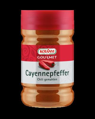 Kotányi Gourmet Cayennepfeffer Chili gemahlen in der 1200ccm Dose