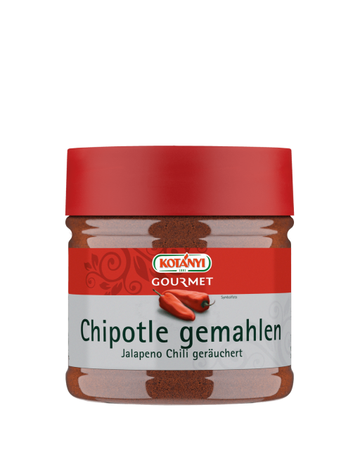 Kotányi Gourmet Chipotle gemahlen in der 400ccm Dose