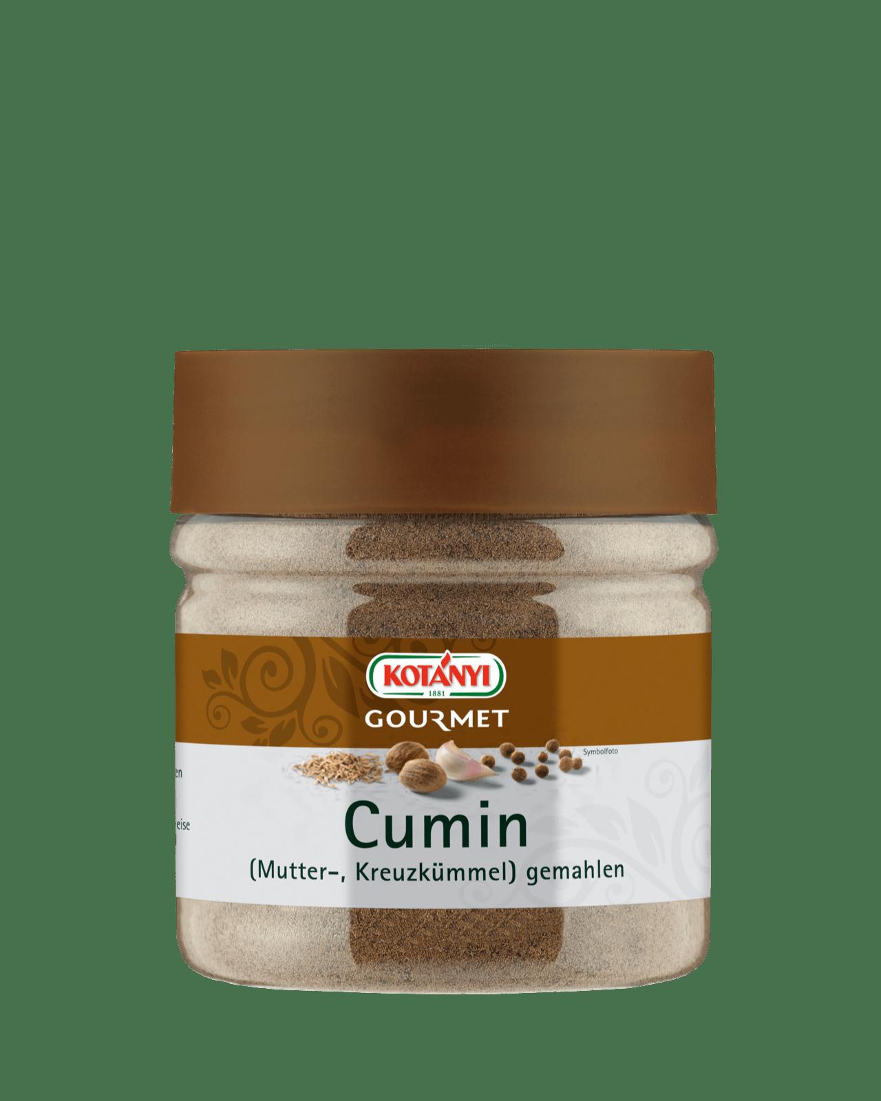 Kotányi Gourmet Cumin Kreuzkümmel gemahlen in der 400ccm Dose