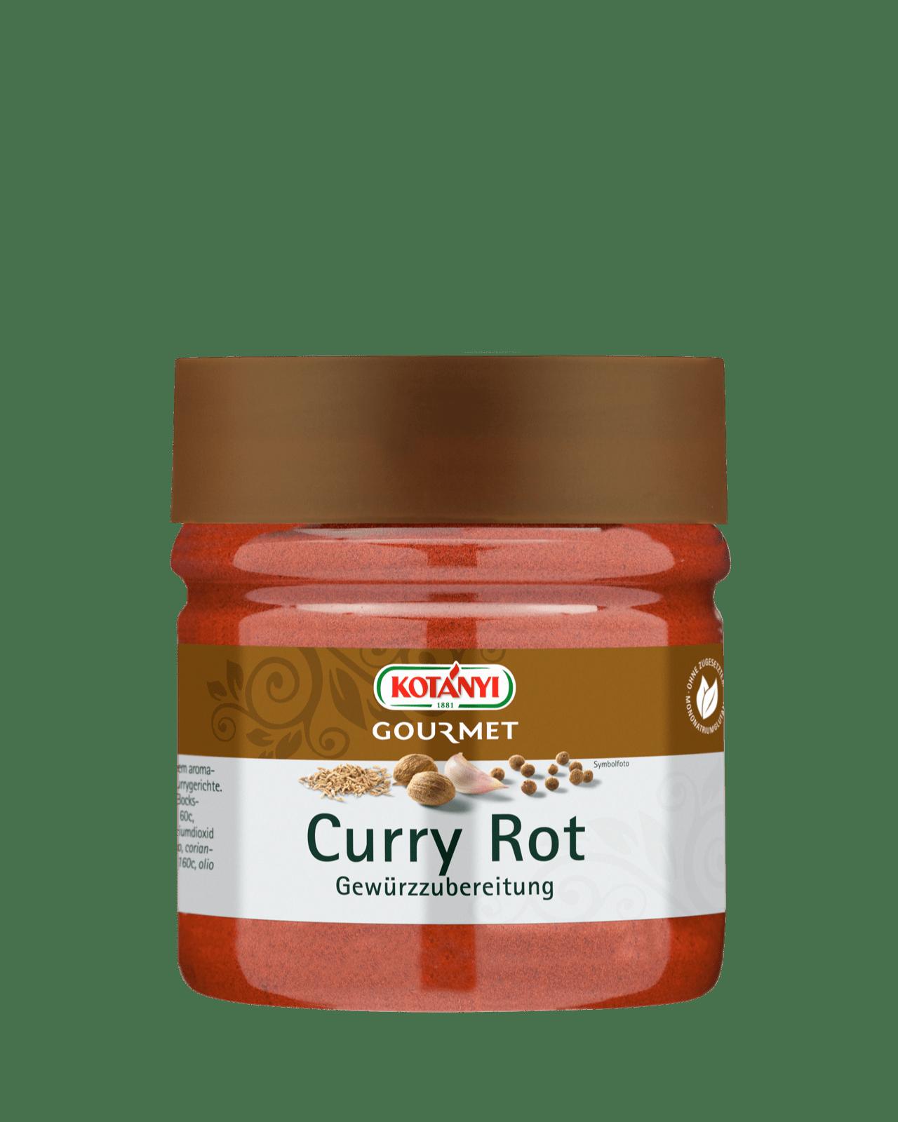 Kotányi Gourmet Curry Rot Gewürzzubereitung in der 400ccm Dose