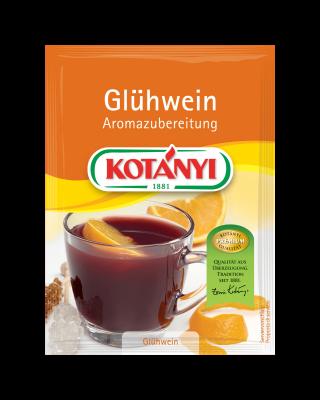 Kotányi Glühwein Aromazubereitung im Brief
