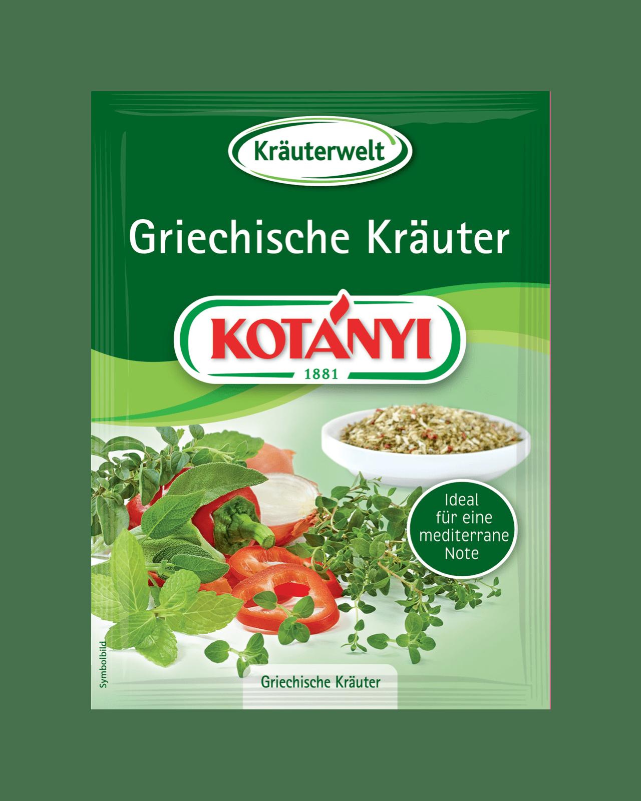Kotányi Griechische Kräuter im Brief