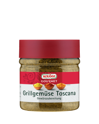 Kotányi Gourmet Grillgemüse Toscana Gewürzzubereitung in der 400ccm Dose