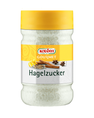 Kotányi Gourmet Hagelzucker in der 1200ccm Dose