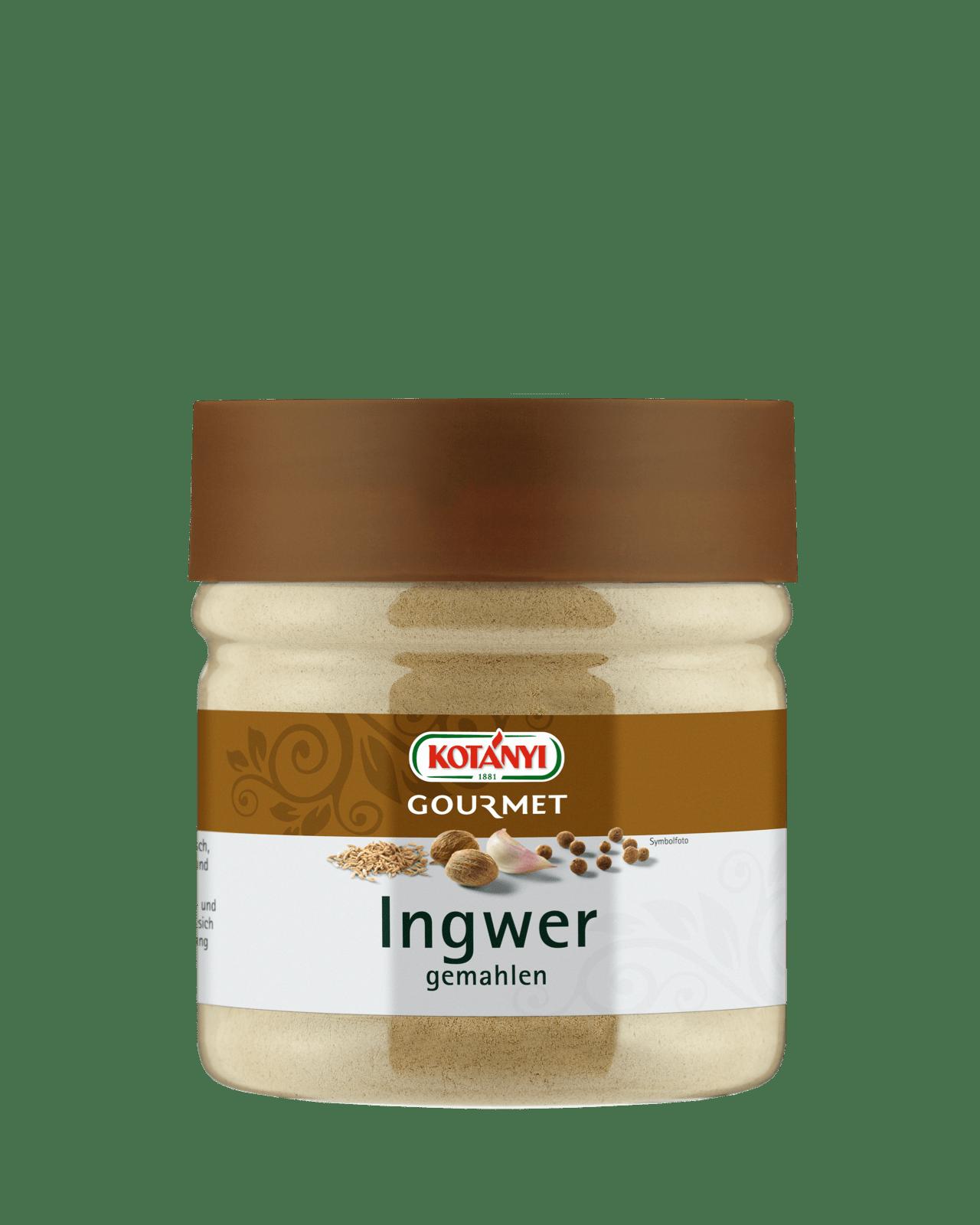 Kotányi Gourmet Ingwer gemahlen in der 400ccm Dose