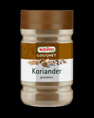 Kotányi Gourmet Koriander gemahlen in der 1200ccm Dose