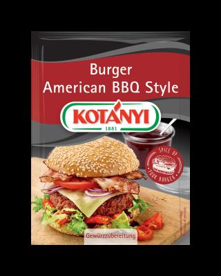 Kotányi Burger American BBQ Style im Brief