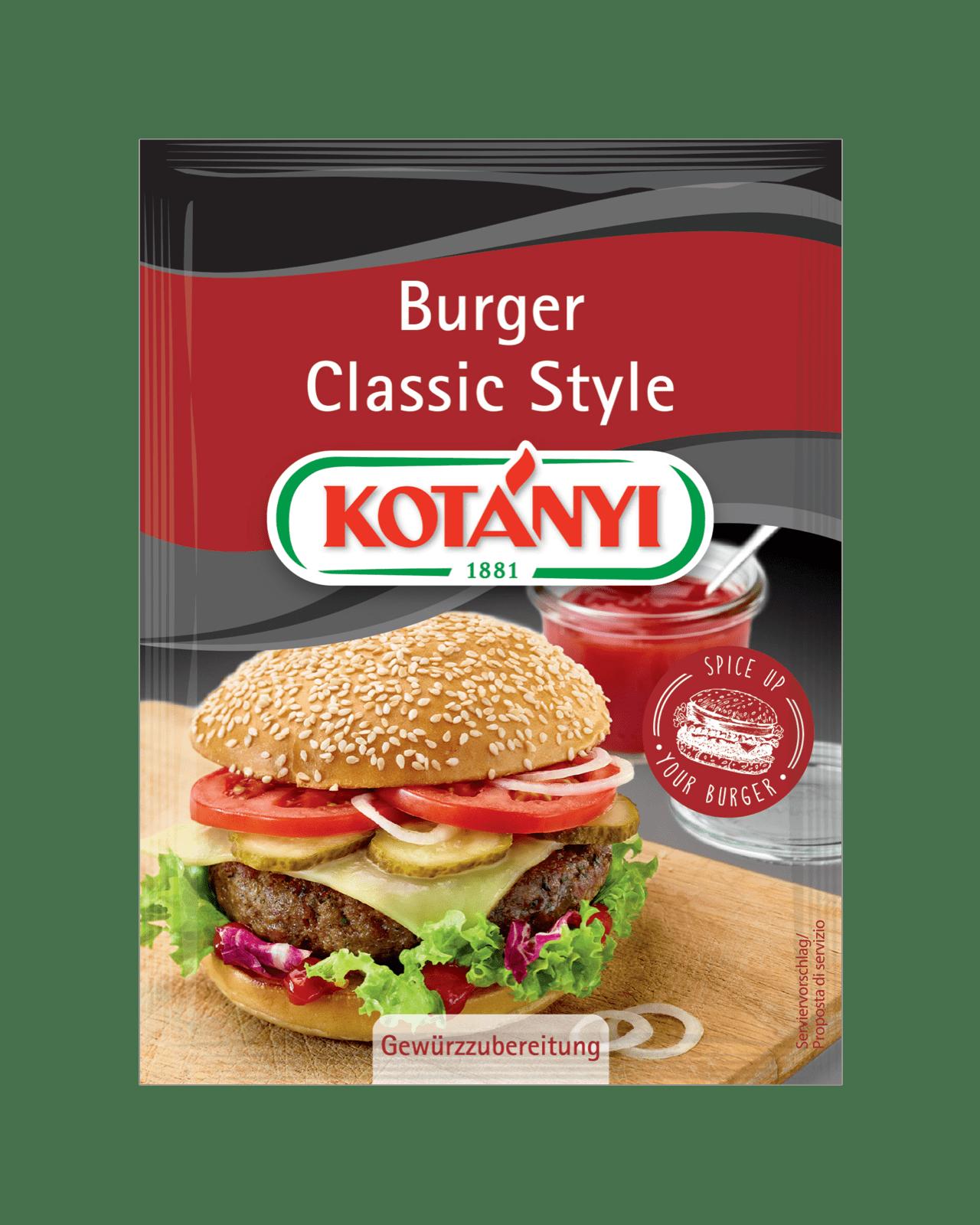 Kotányi Burger Classic Style im Brief