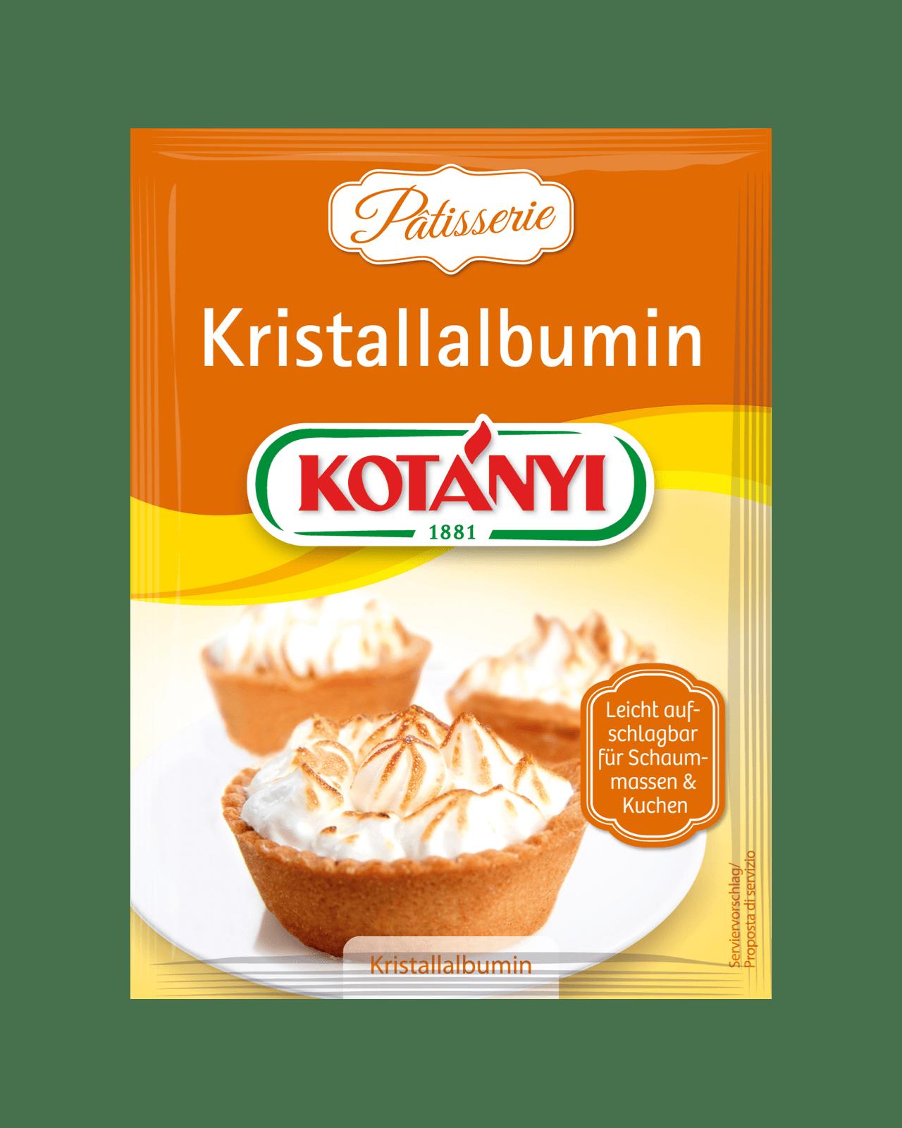 Kotányi Kristallalbumin im Brief