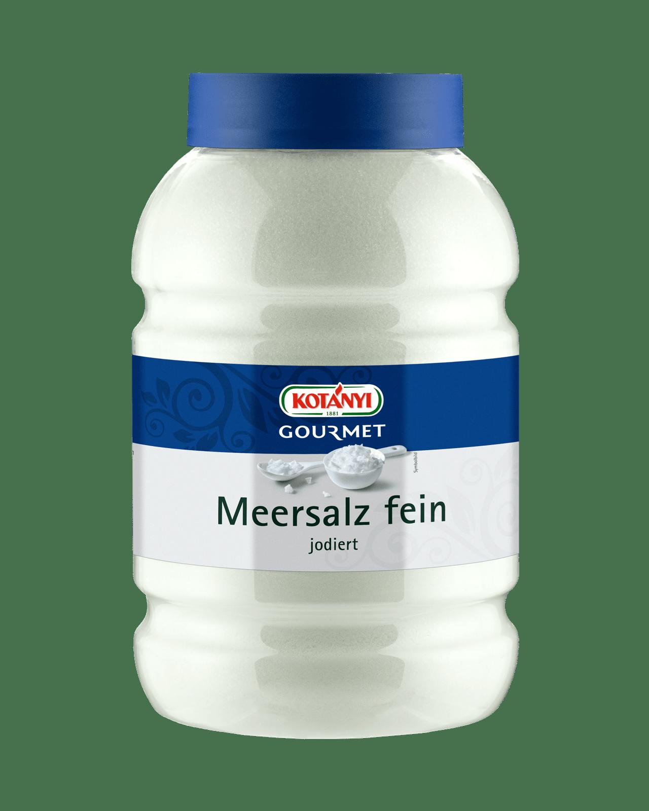 Kotányi Gourmet Meersalz fein jodiert in der 3000ccm Dose