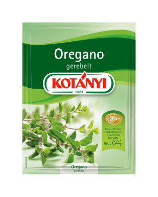 Oregano gerebelt Kotanyi Brief 154201