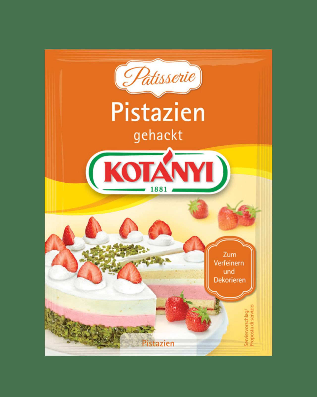 Kotányi Pistazien gehackt im Brief