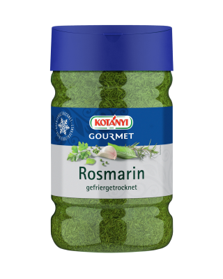 Kotányi Gourmet Rosmarin gefriergetrocknet in der 1200ccm Dose