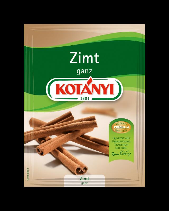 Kotányi Zimt ganz im Brief