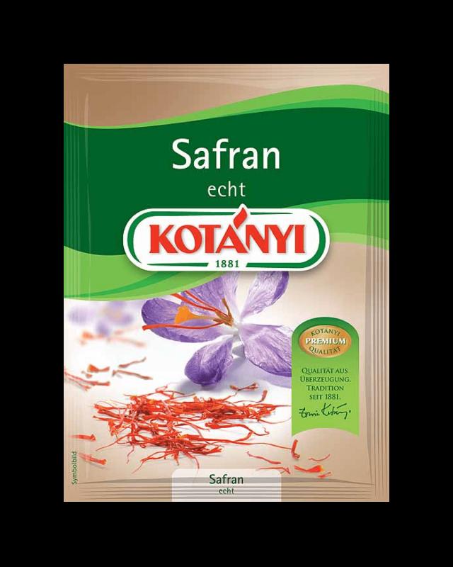 Kotányi Safran echt im Brief
