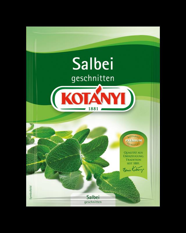 Kotányi Salbei geschnitte im Brief