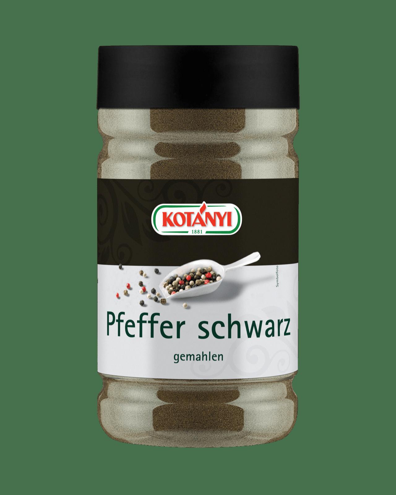 Kotányi Pfeffer Schwarz gemahlen in einer 800 Ccm Dose