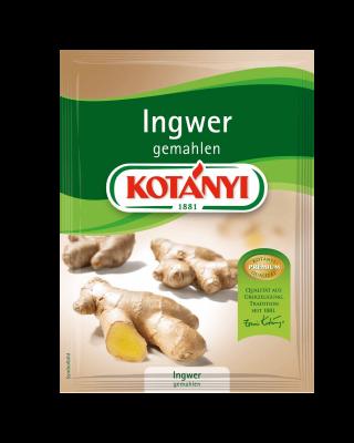 Kotányi Ingwer gemahlen im Brief