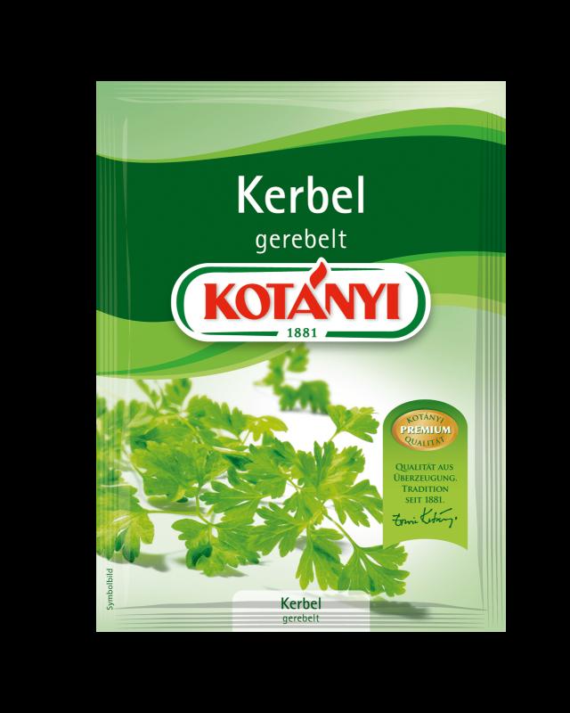 Kotányi Kerbel gerebelt im Brief