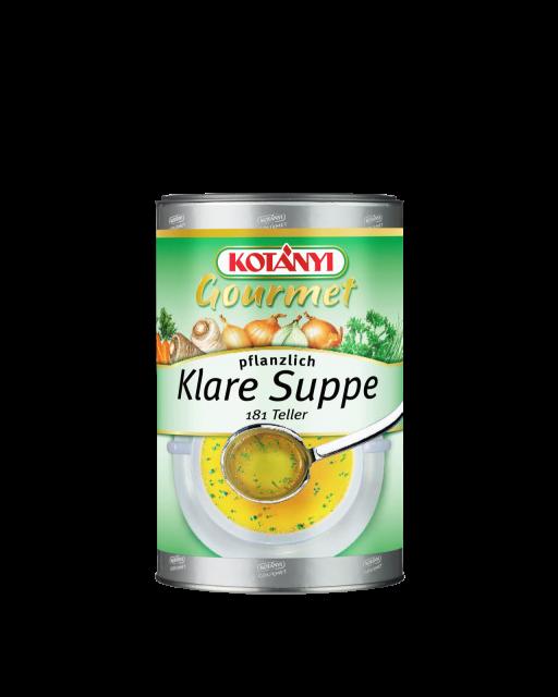 Kotányi Gourmet Klare Suppe pflanzlich in der 1kg Pappdose