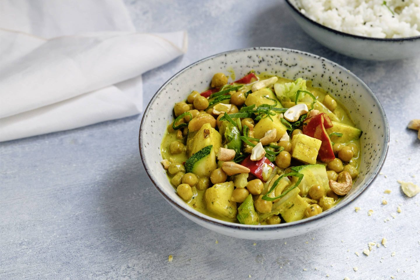 Kichererbsen Curry mit VEGGY Exotic