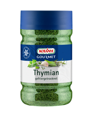 Kotányi Gourmet Thymian gefriergetrocknet in der 1200ccm Dose