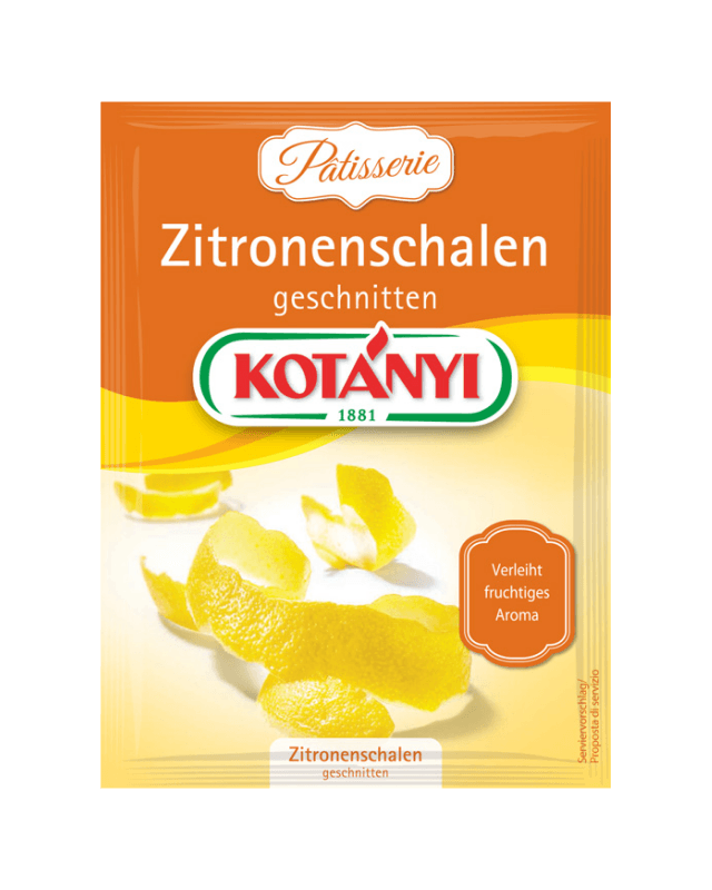 Zitronenschalen 1603015 Brief