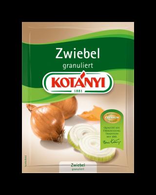 Kotányi Zwiebel granuliert im Brief