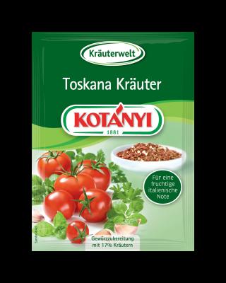 Kotányi Toskana Kräuter in der Briefpackung