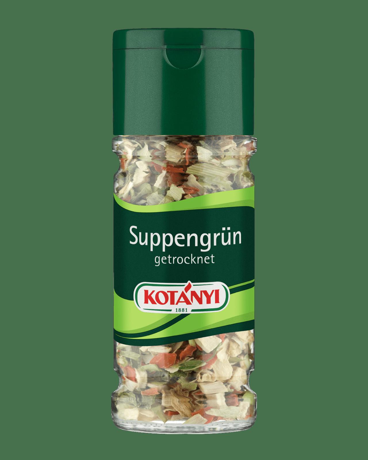 Kotányi Suppengrün getocknet im Glas