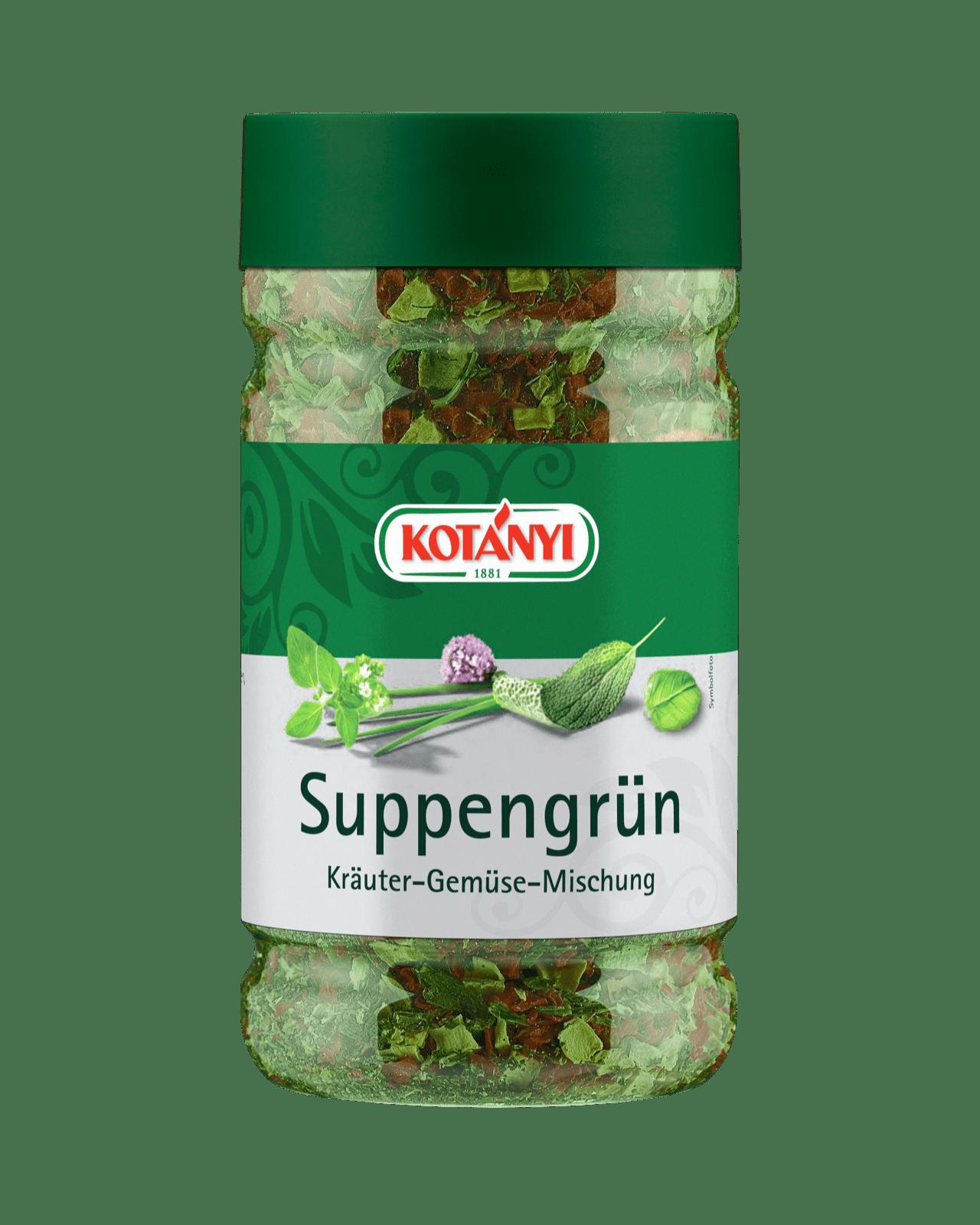 Kotányi Suppengrün in der 800 Ccm Dose