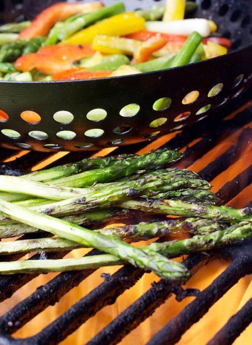 Gemüse am Grill