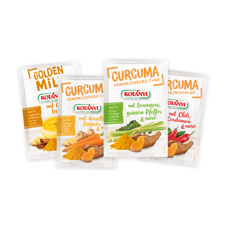 Kotányi Curcuma and more Briefpackungen