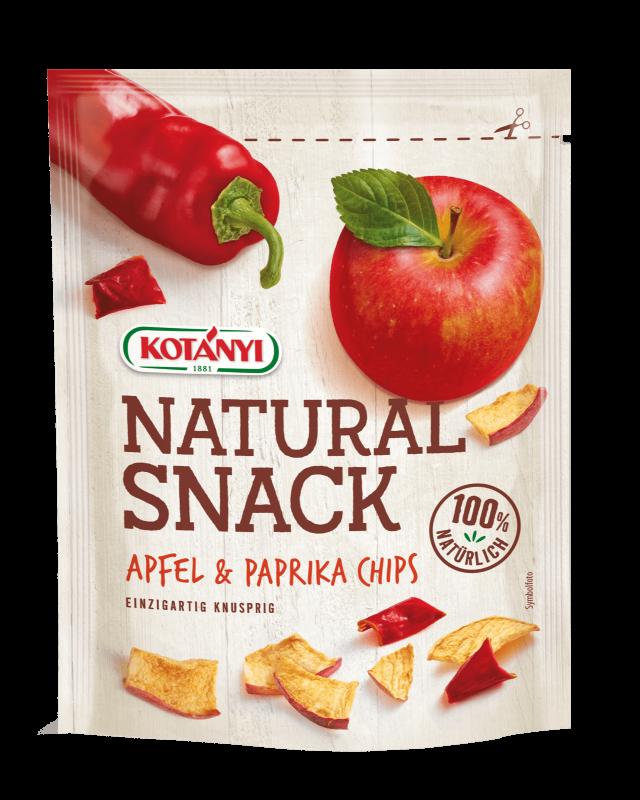 Apfel Paprika Snack Kotanyi Standbeutel