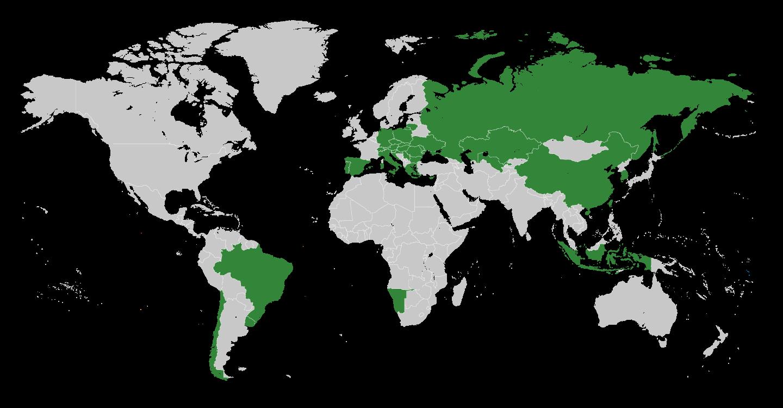 Kotanyi World Map Edit