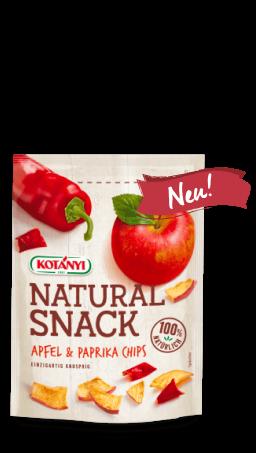 Packshot der Apfel & Paprika Chips