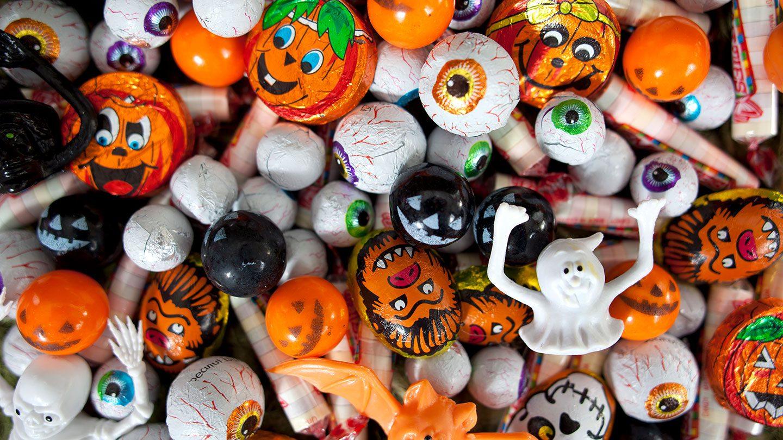 Süßigkeiten zu Halloween