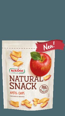 Apfel Chips im Standbeutel
